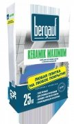 Клей Bergauf Keramik Maximum, 25 кг